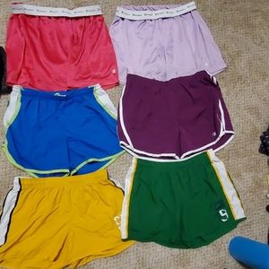 Champion shorts lot and champion hoodie